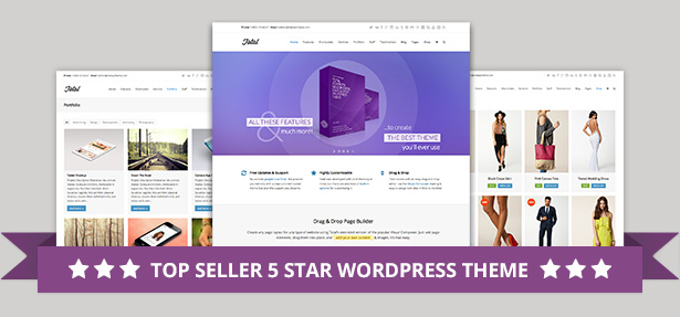 Total WordPress Theme Best Seller